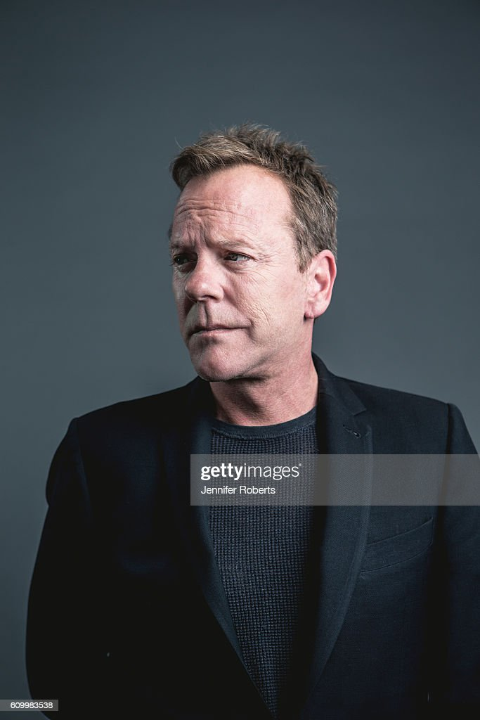 Actor Kiefer Sutherland is photographed for Wall Street Journal on August 10, 2016 in Toronto, Ontario.