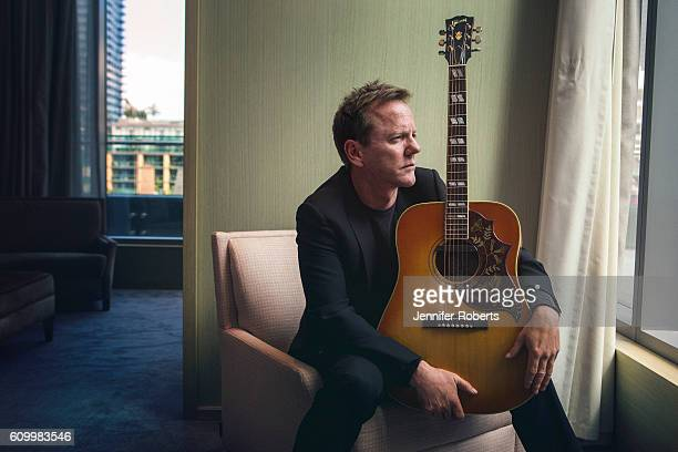 Actor Kiefer Sutherland is photographed for Wall Street Journal on August 10 2016 in Toronto Ontario