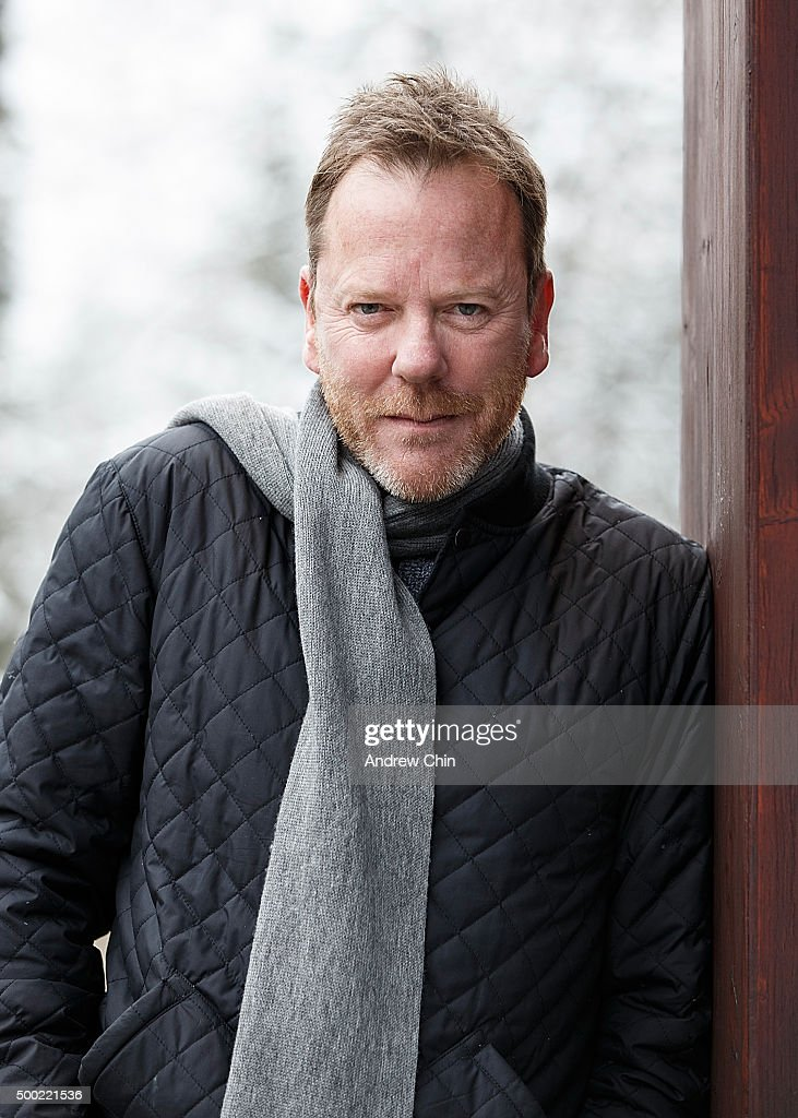 Actor Kiefer Sutherland poses for a portrait in Whistler Village during the 15th Annual Film Festival on December 6, 2015 in Whistler, Canada.