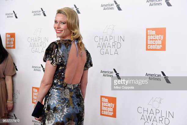Actor Kiera Chaplin attends the 45th Chaplin Award Gala at Alice Tully Hall Lincoln Center on April 30 2018 in New York City