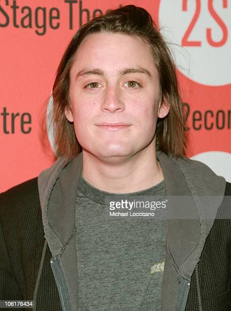 Actor Kieran Culkin attends Edward Albee's Peter And Jerry Opening Night at Second Stage Theatre on November 11 2007 in New York City