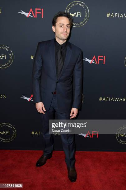 Actor Kieran Culkin attends the 20th Annual AFI Awards at Four Seasons Hotel Los Angeles at Beverly Hills on January 03 2020 in Los Angeles California