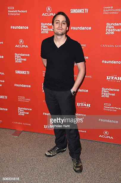 Actor Kieran Culkin attends the WienerDog Premiere at Eccles Center Theatre on January 22 2016 in Park City Utah