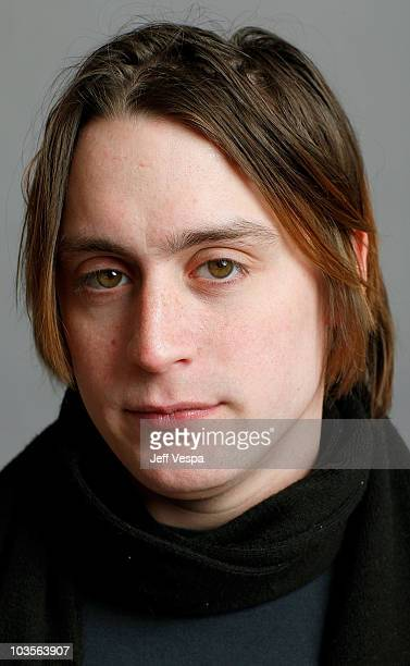 Actor Kieran Culkin poses for a portrait during the 2009 Sundance Film Festival held at the Film Lounge Media Center on January 17 2009 in Park City...
