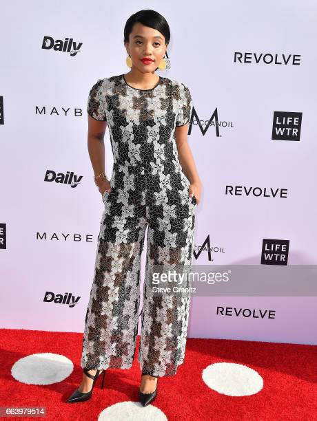 Actor Kiersey Clemons arrives at the Daily Front Row's 3rd Annual Fashion Los Angeles Awards on April 2 2017 in West Hollywood California