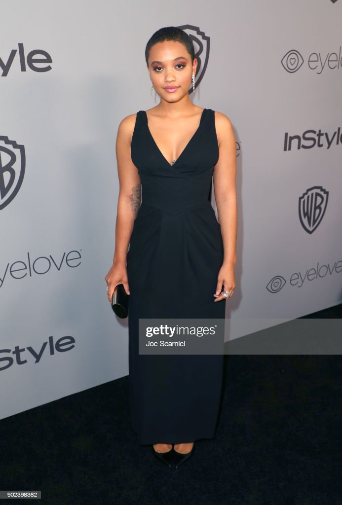 Actor Kiersey Clemons attends the 2018 InStyle and Warner Bros. 75th Annual Golden Globe Awards Post-Party at The Beverly Hilton Hotel on January 7, 2018 in Beverly Hills, California.