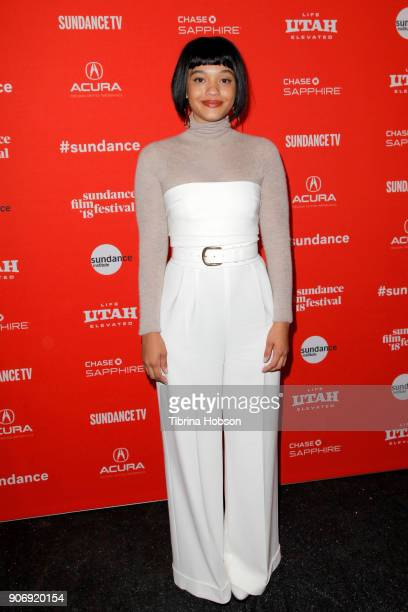 Actor Kiersey Clemons attends the Volunteer Screening Of 'Hearts Beat Loud' Premiere during the 2018 Sundance Film Festival at Park City Library on...