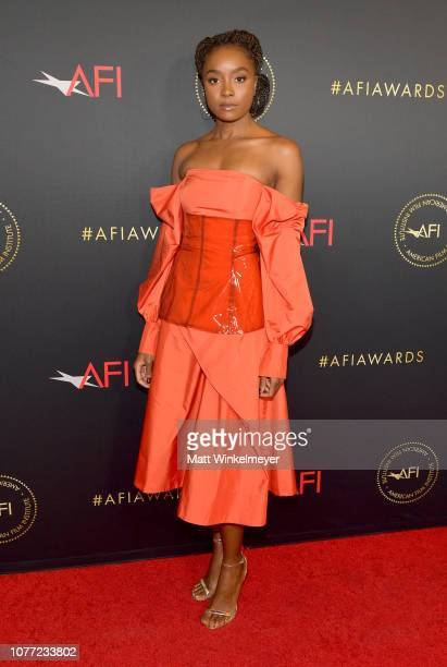 Actor Kiki Layne attends the 19th Annual AFI Awards at Four Seasons Hotel Los Angeles at Beverly Hills on January 4 2019 in Los Angeles California