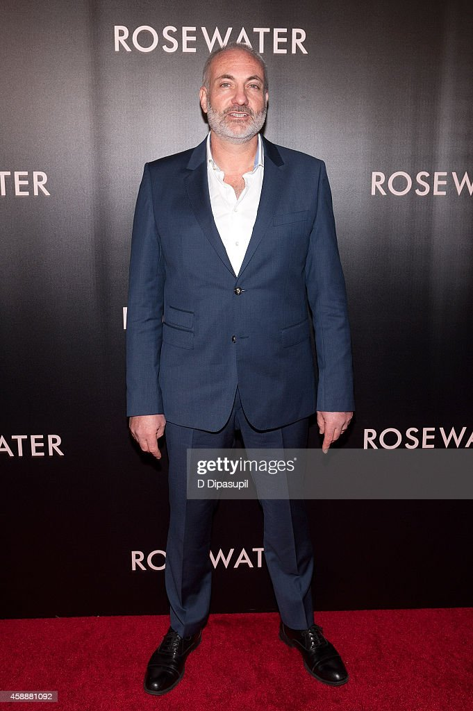 Actor Kim Bodnia attends the 'Rosewater' New York Premiere at AMC Lincoln Square Theater on November 12, 2014 in New York City.