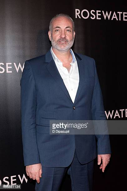 Actor Kim Bodnia attends the Rosewater New York Premiere at AMC Lincoln Square Theater on November 12 2014 in New York City