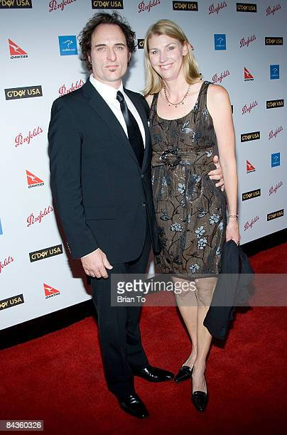 Actor Kim Coates and his wife Diana Coates arrive at Australia Week 2009 Black Tie Gala Arrivals at Hollywood Highland Grand Ballroom on January 18...
