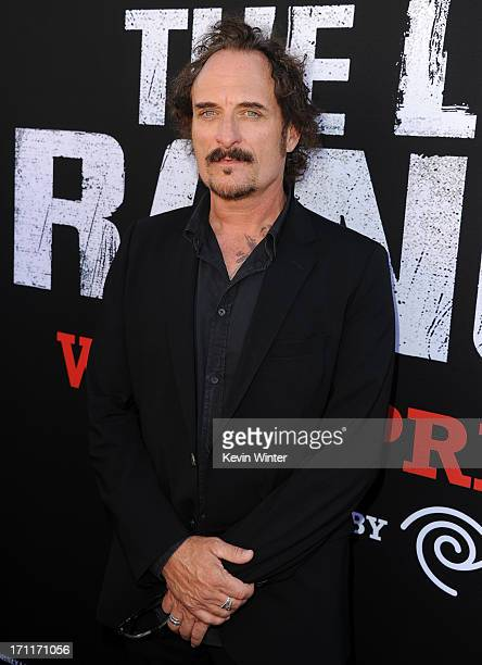 Actor Kim Coates arrives at the premiere of Walt Disney Pictures' The Lone Ranger at Disney California Adventure Park on June 22 2013 in Anaheim...