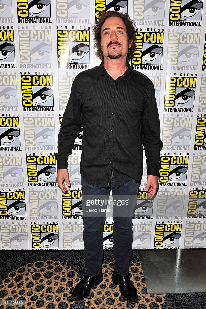 Actor Kim Coates attends the 'Sons Of Anarchy' press line during Comic-Con International 2013 at San Diego Convention Center on July 21, 2013 in San Diego, California.