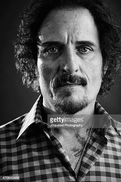 Actor Kim Coates is photographed for Self Assignment on August 2 2015 in Los Angeles California