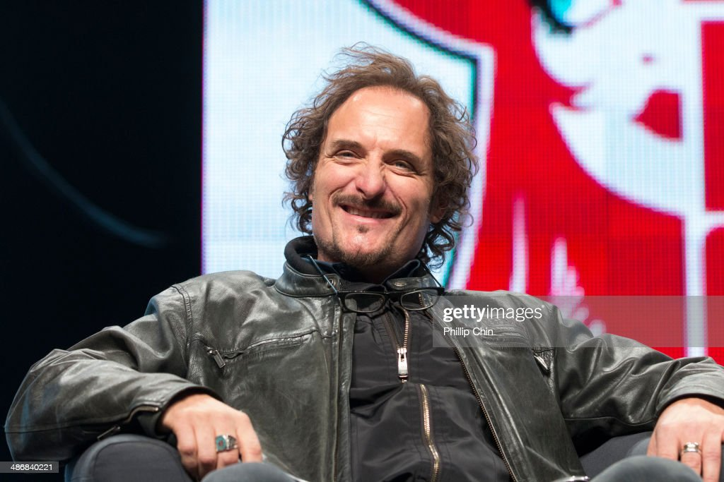 Actor Kim Coates participates in 'The Sons of Anarchy' discussion panel at the Stampede Corral during the Calgary Expo/ Comic and Entratainment Expo on April 25, 2014 in Calgary, Canada.