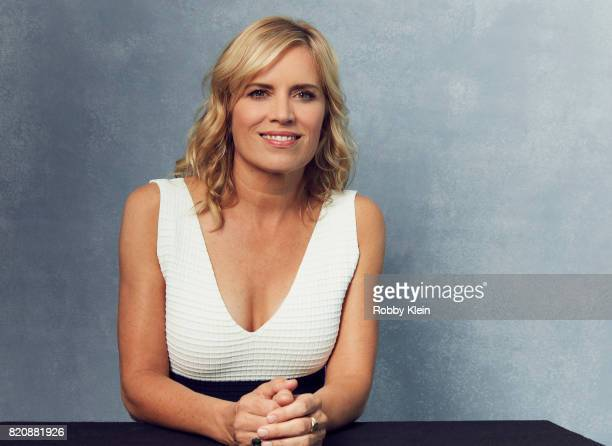 Actor Kim Dickens from AMC's 'Fear of the Walking Dead' poses for a portrait during ComicCon 2017 at Hard Rock Hotel San Diego on July 20 2017 in San...