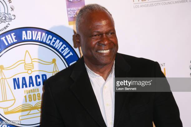 Actor Kim Estes attends the 27th Annual NAACP Theatre Awards at Millennium Biltmore Hotel on February 26 2018 in Los Angeles California