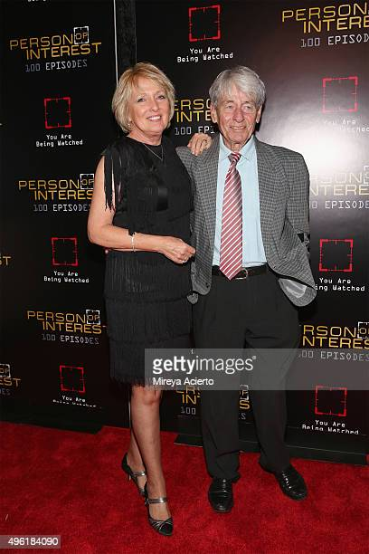Actor Kim Hartman and John Nolan attend Person Of Interest 100th Episode Celebration at 230 Fifth Avenue on November 7 2015 in New York City