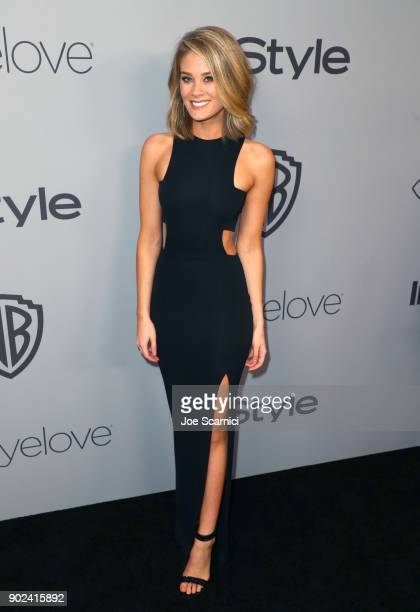 Actor Kim Matula attends the 2018 InStyle and Warner Bros 75th Annual Golden Globe Awards PostParty at The Beverly Hilton Hotel on January 7 2018 in...