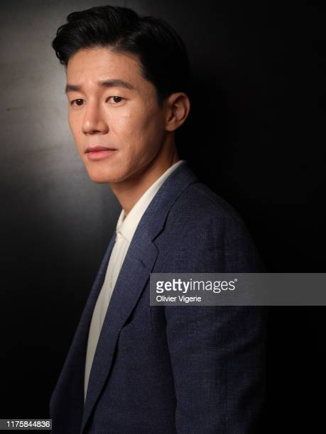 Actor Kim Mu-yeol from the movie 'The Gangster, The Devil, The Cop' poses for a portrait on May 23, 2019 in Cannes, France.
