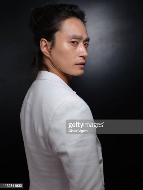 Actor Kim Sung-kyu from the movie 'The Gangster, The Devil, The Cop' poses for a portrait on May 23, 2019 in Cannes, France.