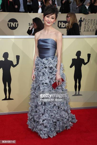 Actor Kimiko Glenn attends the 24th Annual Screen Actors Guild Awards at The Shrine Auditorium on January 21 2018 in Los Angeles California 27522_017