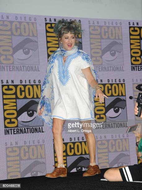 Actor Kimmy Robertson attends 'Twin Peaks A Damn Good Panel' during ComicCon International 2017 at San Diego Convention Center on July 21 2017 in San...