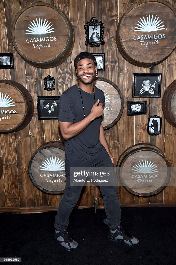 Actor King Bach arrives to the Casamigos Halloween Party at a private residence on October 28, 2016 in Beverly Hills, California.