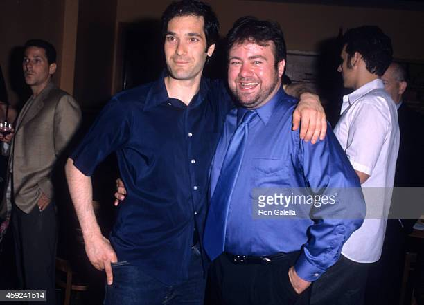Actor Kipp Marcus and brother director Adam Marcus attend the Let It Snow Premiere Party on June 6 2001 at Jeollado in New York City