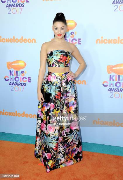 Actor Kira Kosarin at Nickelodeon's 2017 Kids' Choice Awards at USC Galen Center on March 11 2017 in Los Angeles California