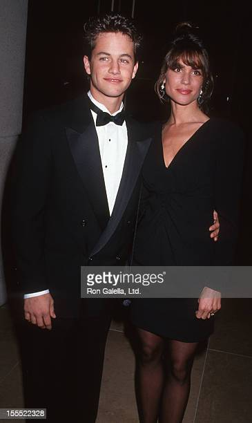 Actor Kirk Cameron and wife Chelsea Noble attending 48th Annual Golden Globe Awards on January 19 1991 at Beverly Hilton Hotel in Beverly Hills...