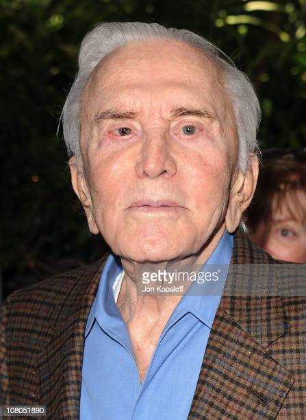 Actor Kirk Douglas arrives at the 2011 AFI Awards at The Four Seasons Hotel on January 14, 2011 in Beverly Hills, California.