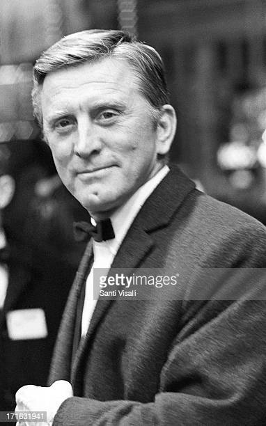 Actor Kirk Douglas at the premiere of Cast a Giant Shadow on March 301966 in New York New York