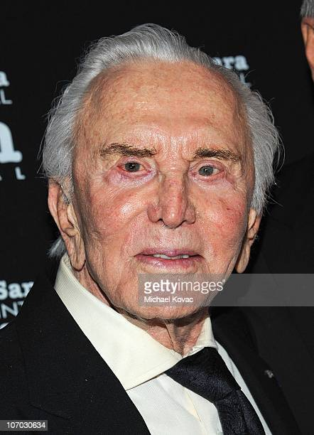 Actor Kirk Douglas attends SBIFF's 5th Annual Kirk Douglas Award For Excellence In Film Ceremony at The Four Seasons Biltmore on November 19 2010 in...