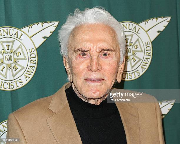 Actor Kirk Douglas attends the 50th annual Publicists Awards Luncheon at The Beverly Hilton Hotel on February 22, 2013 in Beverly Hills, California.