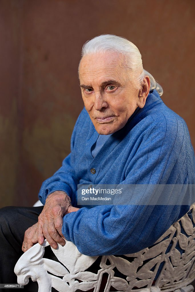 Actor Kirk Douglas is photographed USA Today on November 21, 2014 in Beverly Hills, California. PUBLISHED