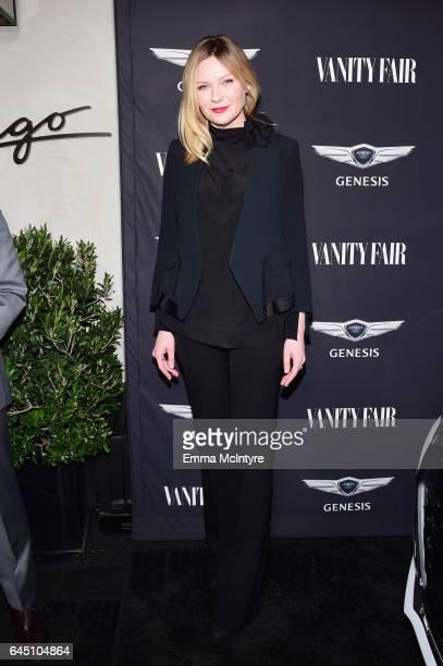 Actor Kirsten Dunst attends Vanity Fair and Genesis Celebrate Hidden Figures on February 24 2017 in Los Angeles California