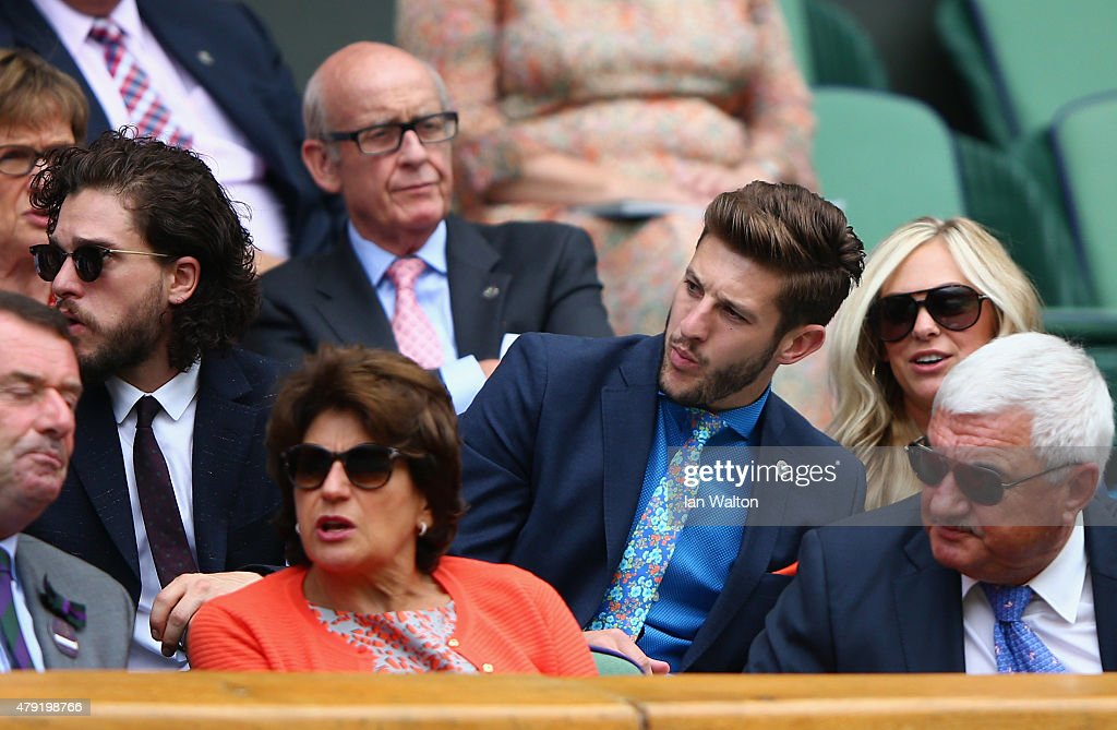 In Focus: Famous Fans - Celebrities At Wimbledon Day 4