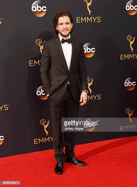 Actor Kit Harington arrives at the 68th Annual Primetime Emmy Awards at Microsoft Theater on September 18 2016 in Los Angeles California