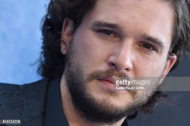 Actor Kit Harington arrives at the premiere of HBO's 'Game Of Thrones' Season 7 at Walt Disney Concert Hall on July 12 2017 in Los Angeles California