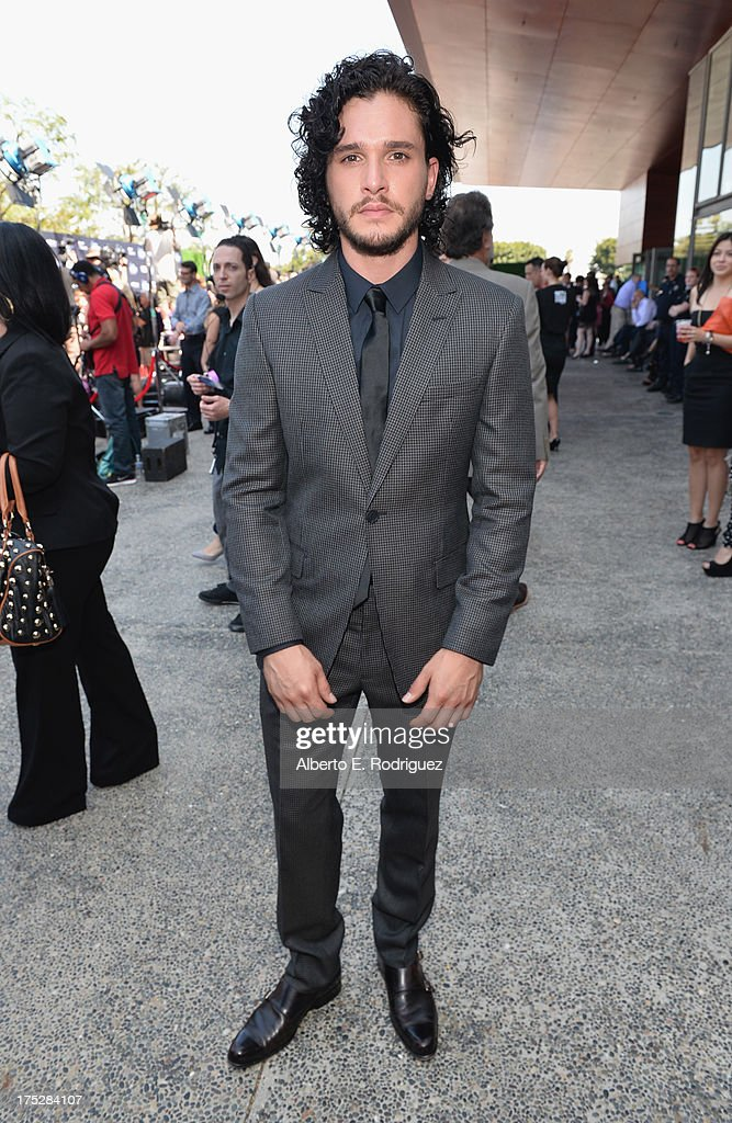 Actor Kit Harington attends CW Network's 2013 Young Hollywood Awards presented by Crest 3D White and SodaStream held at The Broad Stage on August 1, 2013 in Santa Monica, California.