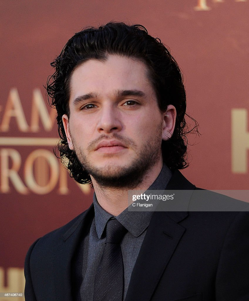 Actor Kit Harington attends HBO's 'Game of Thrones' Season 5 Premiere at the San Francisco War Memorial Opera House on March 23, 2015 in San Francisco, California.