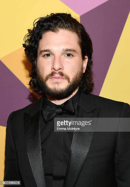 Actor Kit Harington attends HBO's Official Golden Globe Awards After Party at Circa 55 Restaurant on January 7 2018 in Los Angeles California