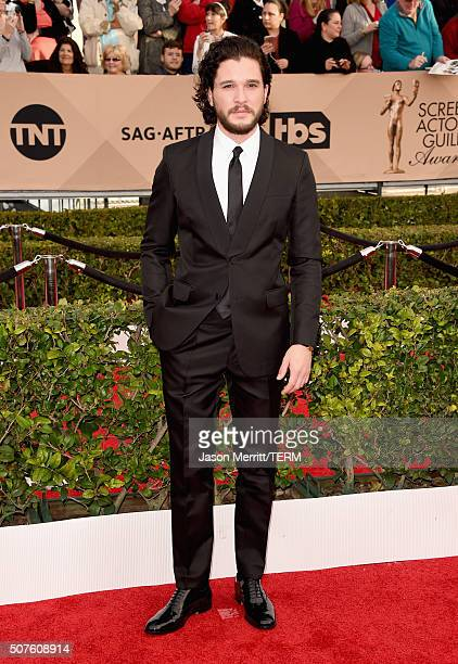 Actor Kit Harington attends The 22nd Annual Screen Actors Guild Awards at The Shrine Auditorium on January 30 2016 in Los Angeles California 25650_015