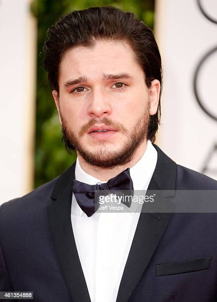 Actor Kit Harington attends the 72nd Annual Golden Globe Awards at The Beverly Hilton Hotel on January 11 2015 in Beverly Hills California