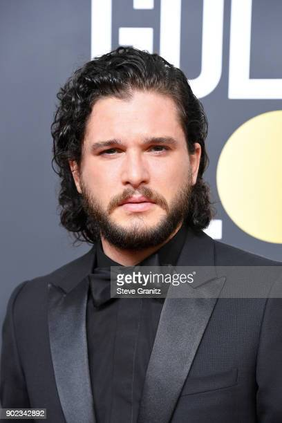 Actor Kit Harington attends The 75th Annual Golden Globe Awards at The Beverly Hilton Hotel on January 7 2018 in Beverly Hills California