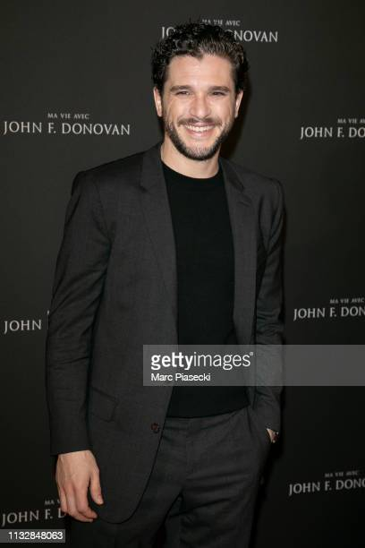 Actor Kit Harington attends the Ma Vie Avec John FDonovan Premiere at Mk2 Bibliotheque on February 28 2019 in Paris France