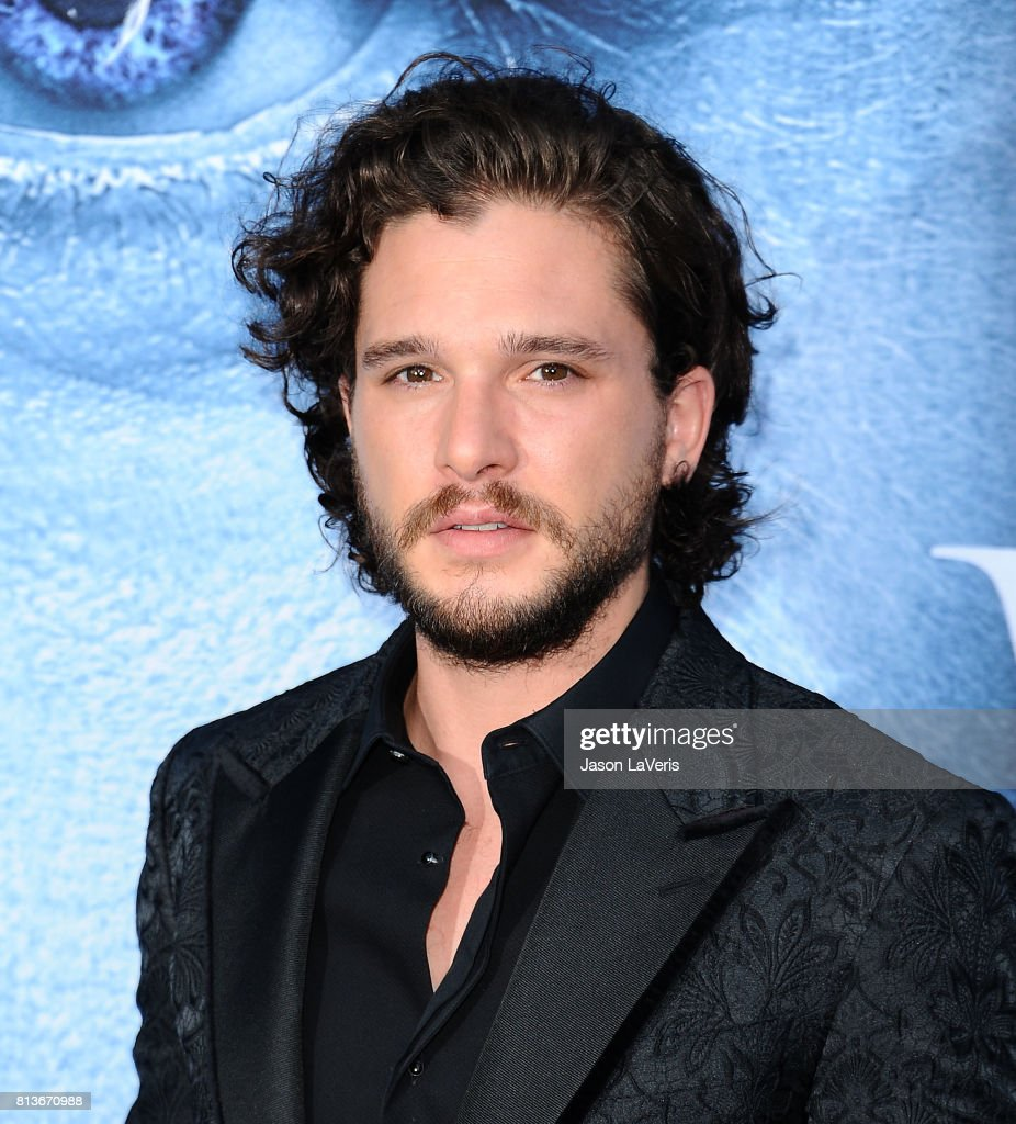 Actor Kit Harington attends the season 7 premiere of 'Game Of Thrones' at Walt Disney Concert Hall on July 12, 2017 in Los Angeles, California.