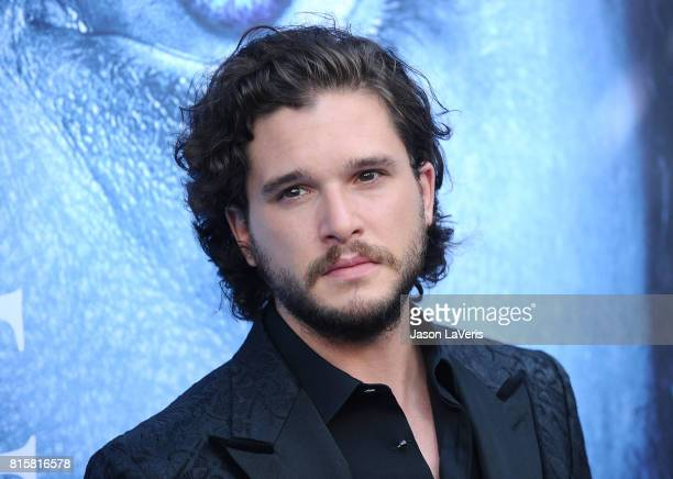 Actor Kit Harington attends the season 7 premiere of 'Game Of Thrones' at Walt Disney Concert Hall on July 12 2017 in Los Angeles California