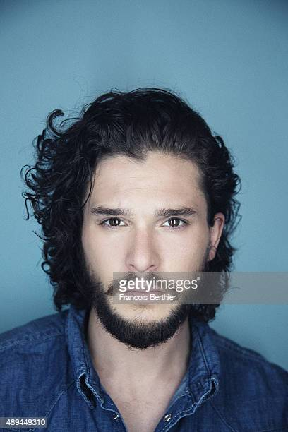 Actor Kit Harington is photographed for Self Assignment on July 9th 2015 in Paris France